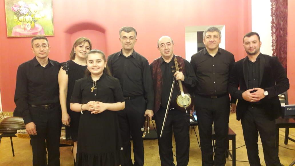 Продюсерский центр MUSIC PARKING поддержал великолепный концерт армянской музыки